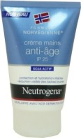 NEUTROGENA CREME MAINS ANTI AGE IP 25 SOJA ACTIF